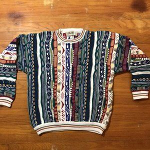Vintage Cotton Traders Coogi Style Sweater